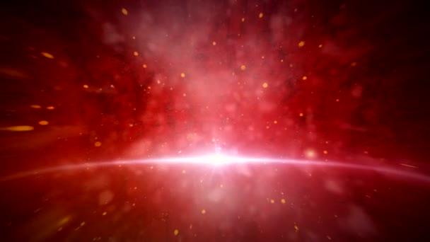 Piros galaxis animáció 2