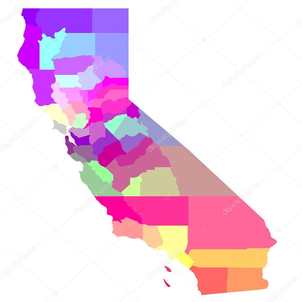 California Map Download.California Map Stock Photo C Art1o1 45942073