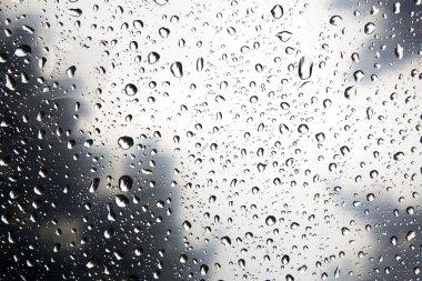 Wet glass