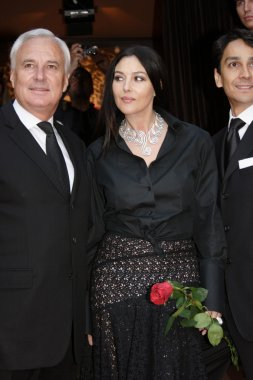 Monica Bellucci in Moscow.