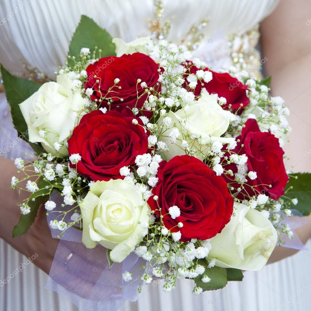 Hochzeitsstrauss Stockfoto C Elenarostunova 45378725