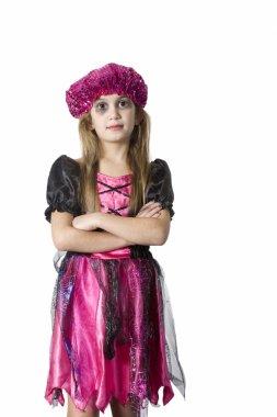 Girl in carnival fancy dress
