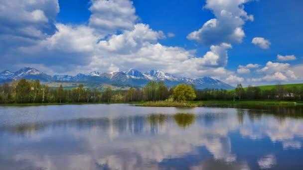 čas zanikla obloze Vysoké Tatry