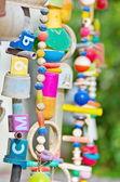 mobilní, windchimds z recyklovaného hračky