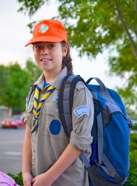 Israel Girl Scout