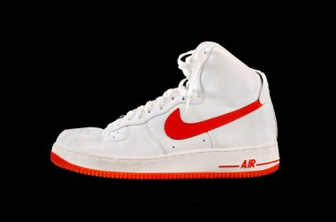 High-top classic Nike AF-1 basketball shoe sneaker