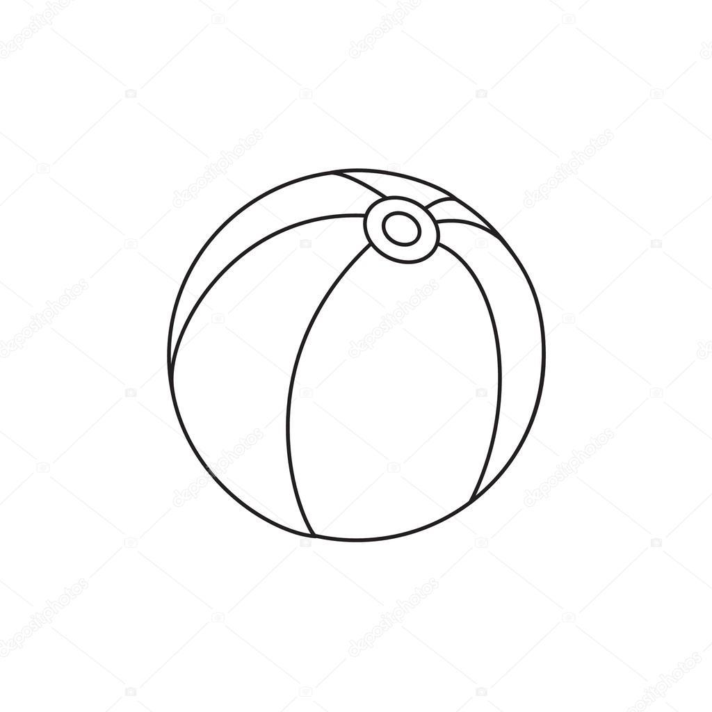 Oyuncak Top Vektör çizim Stok Vektör Arnica83 44534657