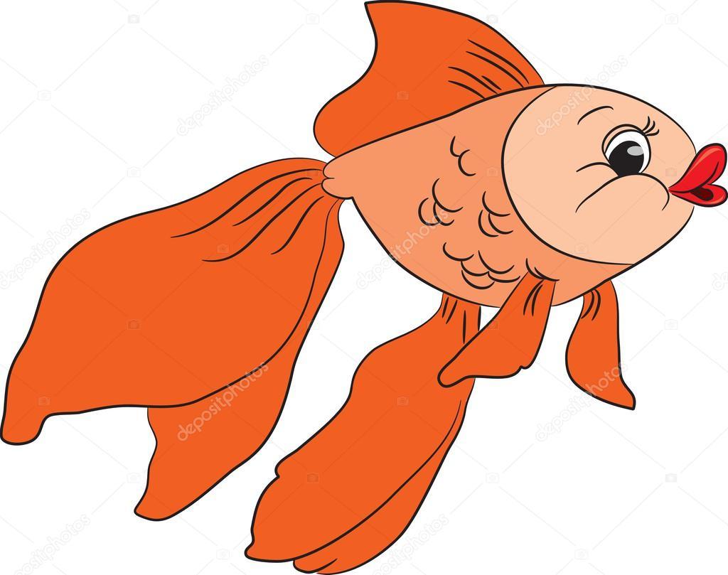 Poisson Rouge Dessin Animé Image Vectorielle Arnica83 44701305