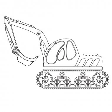 Dredge toy outlined