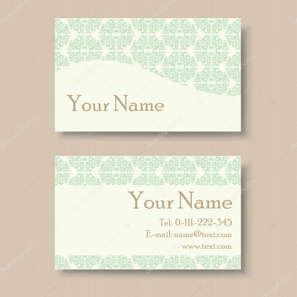 Stylish vintage business card template stock vector arnica83 stylish vintage business card template stock vector 50952645 magicingreecefo Gallery