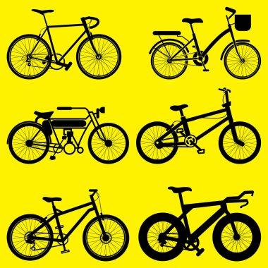 bike vector set