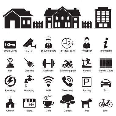 village hotel and home Services and Facilities Icon