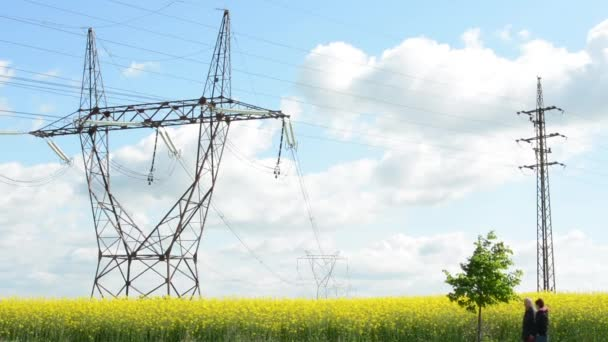 High voltage with nature and people