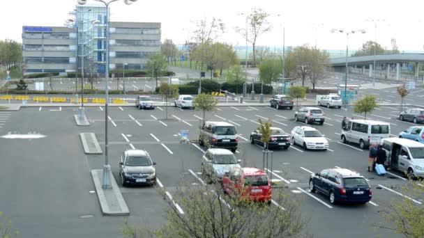 Airport Prague - car park (parking)