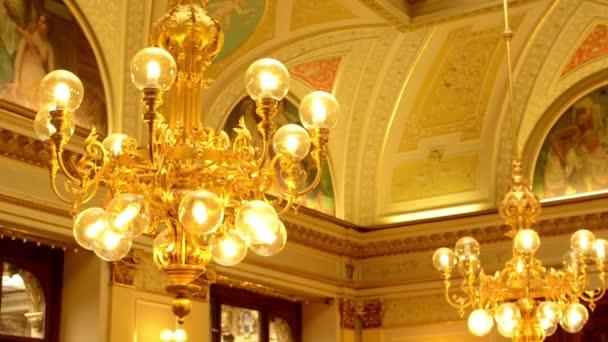 Lighting(lamp) - a historic building (interior)