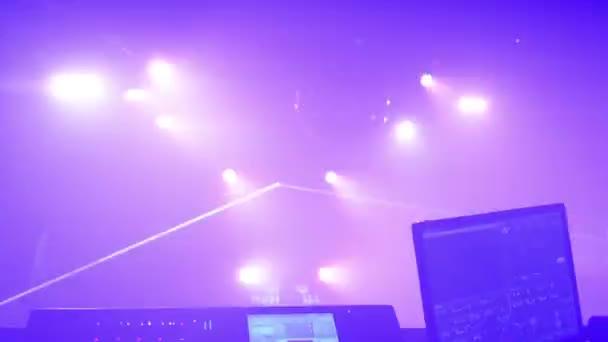 emberek tánc buli (diszkó) - színpad világítás