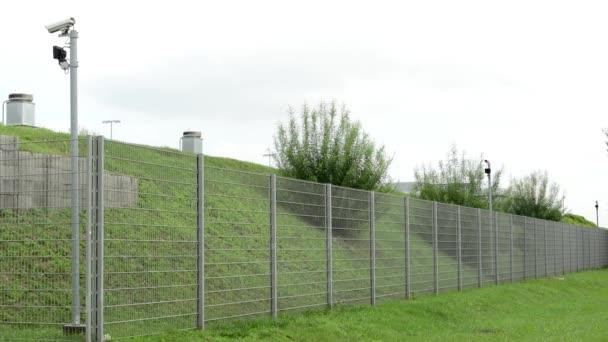 bezpečnostní plot s fotoaparáty