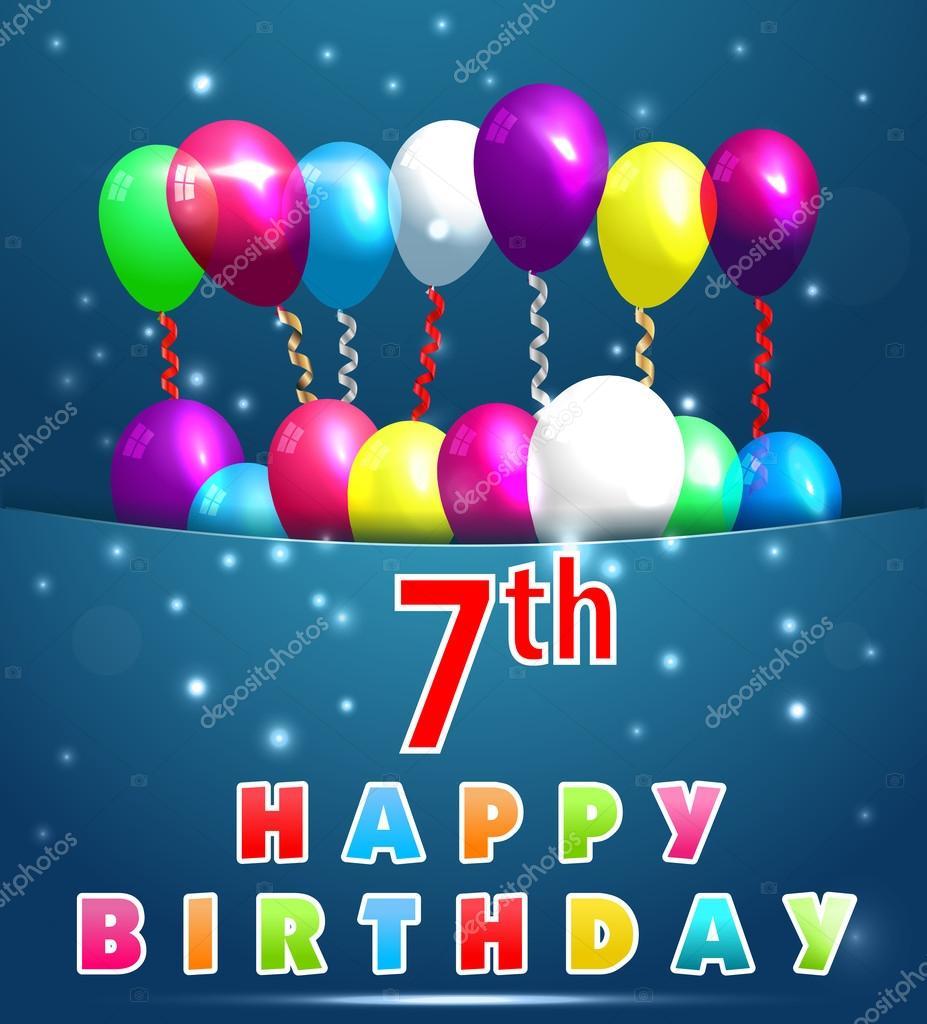 Verjaardag Meisje 7 Jaar