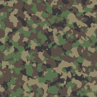 Woodland camo pattern stock vector