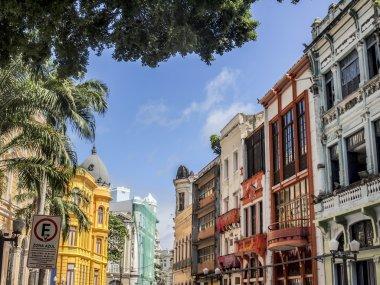 The historical center of Recife, Brazil