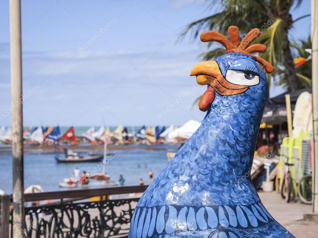 Resultado de imagen para esculturas porto de galinhas