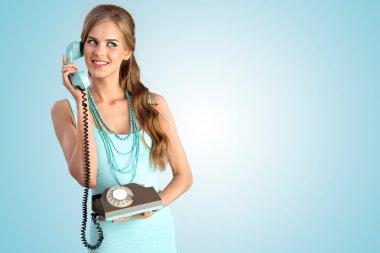 The vintage call girl.