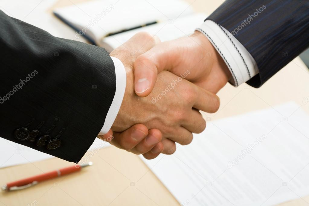 Business-Vertrag — Stockfoto © chagin #44652155