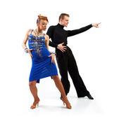 Fotografie zwei Eleganz-Tänzer