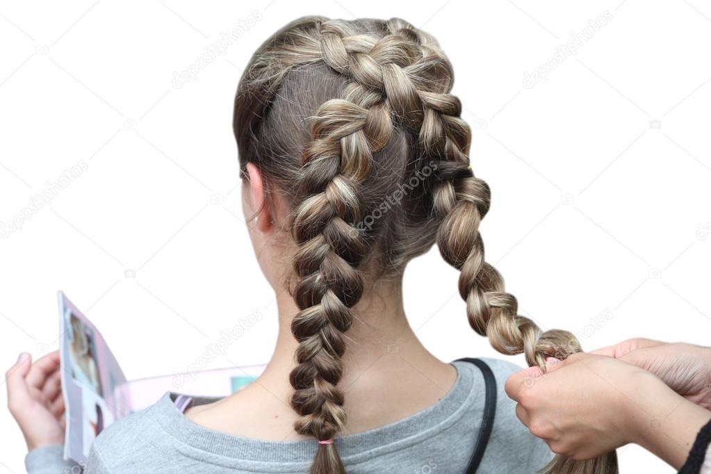 Fryzjer Co Plecionki Dla Dziewczyny Fryzury Dla Dzieci