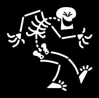 Evil Skeleton shrinking