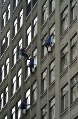 Elevated Window Washers