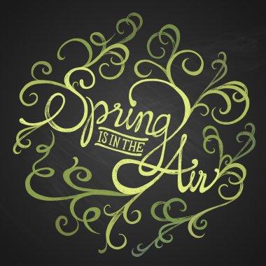 SPRING AIR - Floristic circle quote