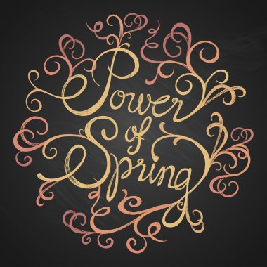 POWER of SPRING - quotes on floristic circle