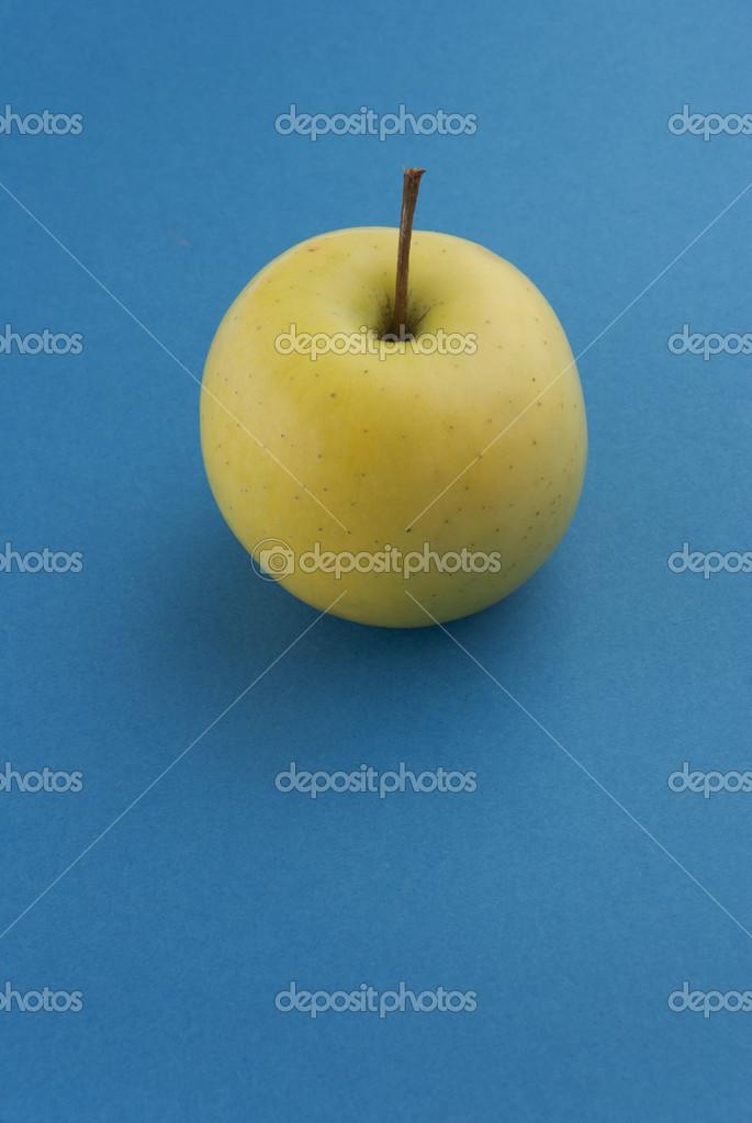 Sfondo apple giallo