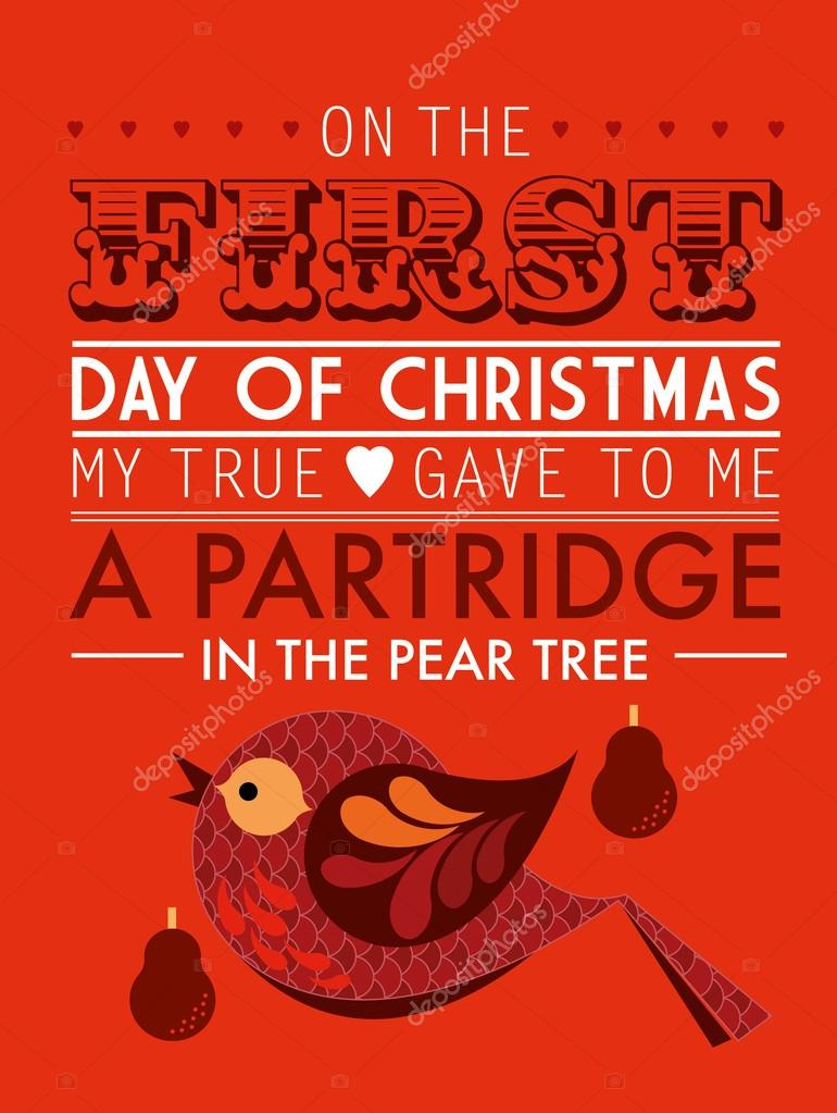 A partridge in the pear tree
