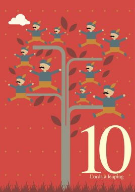 Tenth day of Christmas - Ten lords a leaping