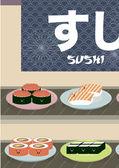 Fényképek Japán sushi