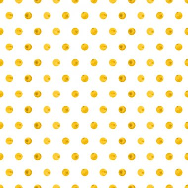 Vector watercolor background with dots.