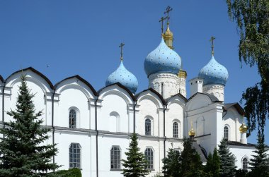 Kazan Kremlin, a fragment of the Annunciation Cathedral