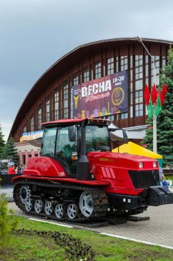Crawler tractor Belarus 2103
