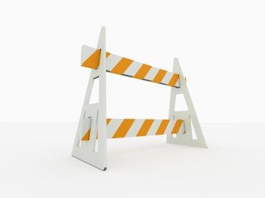 Road block barrier