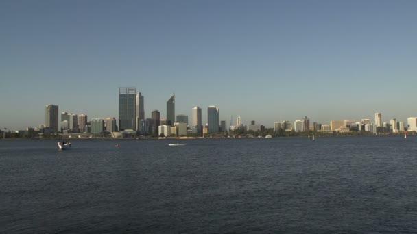 Panorama perth kapitál západní Austrálie