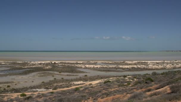 Pan landscape Shark Bay National Park