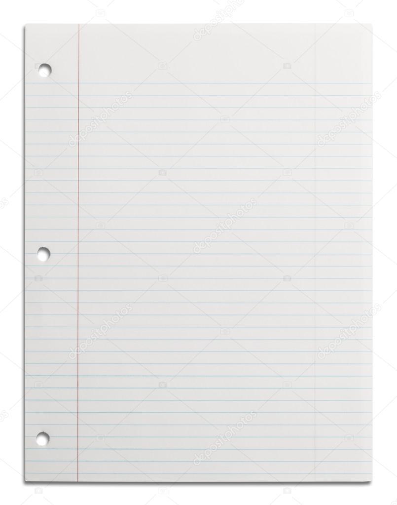 weiße Linie Papier — Stockfoto © PixelRobot #45474795