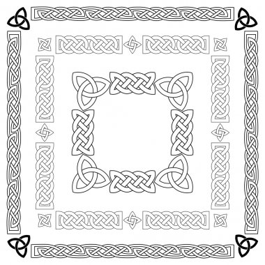 Celtic knots, patterns
