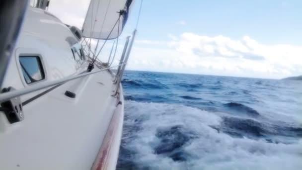 vitorlázás, a szél, a hullámok