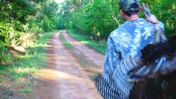 a vadon élő pulyka vadász