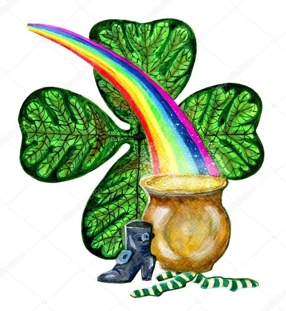St Patrick's day symbols
