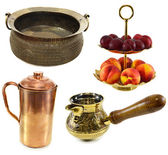 Traditional Indian dishware