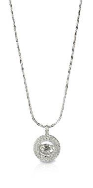 Diamond Pendant Necklace on a chain